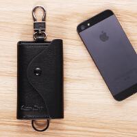 挂钥匙包锁匙男士钥匙包插卡多功能实用腰挂大容量手工车用钥匙包男士改装卡包