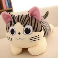 小猫咪公仔可爱软体羽绒棉喵咪抱枕小猫布娃娃毛绒玩具女生日礼物