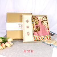 中国风杭州丝绸真丝丝巾女复古宫廷风高档礼盒生日礼物送妈妈实用