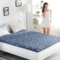 家纺2017秋冬款床垫羊毛榻榻米床垫1.5m床加厚单人学生垫被双人1.8米床褥子被褥