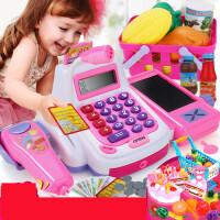 【支持礼品卡】儿童仿真超市收银机玩具过家家可扫描男女孩多功能收银台玩具h2u