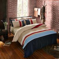 夏天床套被套床单四件套全棉纯棉潮牌气质简约大气夏季欧美风冰丝