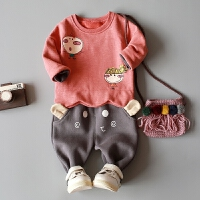 童装男童春装套装0-1-2-3岁宝宝婴儿春秋款婴幼儿外出服