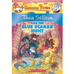 Thea Stilton #11: Thea Stilton And The Blue Scarab Hunt 老鼠记