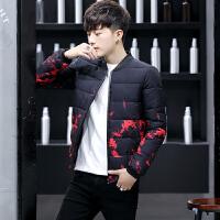 冬季新款棉衣男韩版修身青少年帅气潮流外套男冬装棉袄短款棉服潮