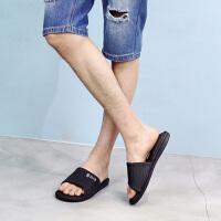 拖鞋男夏季时尚防滑大码室内外潮流男士女士外穿沙滩一字拖