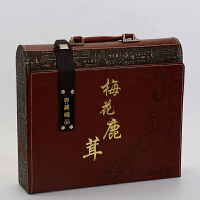 【空盒】新款*茸包装盒片装皮盒东北特产礼品盒礼盒手提盒空盒SN4327
