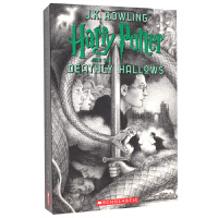 现货 哈利波特与死亡圣器20周年纪念版7 英文原版 Harry Potter and the Deathly Hall