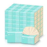 喜朗谷斑丽人本色抽纸40包装3层加厚款纸竹浆纸巾整箱面巾纸家用实惠装