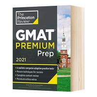 普林斯顿GMAT考试备考指南2021 Princeton Review GMAT Premium Prep 2021 英