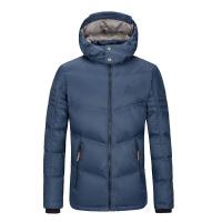 男士羽绒服短款 秋冬季新款加厚保暖男装外套潮 深蓝色 S/165/88A