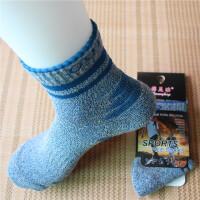 男士篮球�|袜子男中筒运动袜加厚毛巾底春秋冬季纯棉长袜超厚耐磨 均码(39-44码)五双装