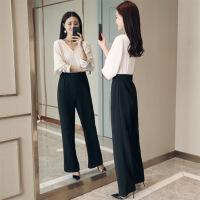 连体裤甜美2018年春季长裤连衣裤时尚气质优雅街头韩版百搭潮流