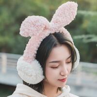 可折叠保暖护耳套耳罩保暖女护额头罩耳包女冬季护耳朵罩女耳捂女