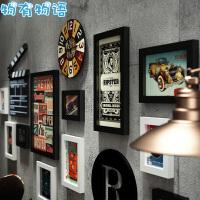 物有物语 照片墙 欧式现代时尚简约相框组合客厅实木装饰画办公室悬挂式框相框墙