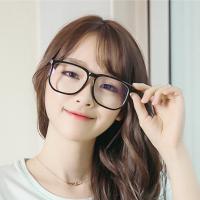 男女复古大框架眼镜成品带镜片100/200/250/300/350/400度