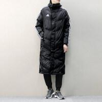 Adidas阿迪达斯 男子 运动棉服外套 防风保暖中长款外套 BR2069