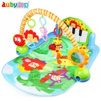 3-6个月儿童早教0-1岁宝宝玩具婴儿脚踏钢琴音乐健身架器