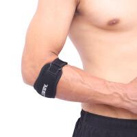 护肘篮球羽毛球女骑行健身 关节护肘网球肘加压带运动护臂护具男 黑色