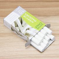 韩国MUNGYO 进口白色无尘粉笔 10支装 盟友儿童无尘粉笔
