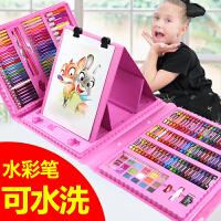 水彩笔儿童画画笔套装幼儿园水彩绘画小学生无毒可水洗彩色笔蜡笔