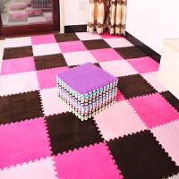 儿童拼图泡沫垫可手洗爬行垫卧室拼接地毯满铺地垫床边榻榻米家用
