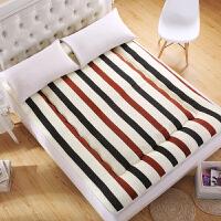软床垫海绵防潮防滑地铺折叠薄睡垫被大学生宿舍单人双人春季夏季SN2964