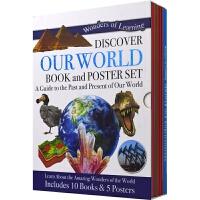 【首页抢券300-100】Discover Our World Book and Poster Set 儿童百科全书套装