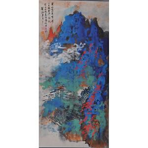 刘海粟   黄山奇峰