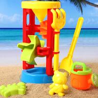 婴幼儿沙滩玩具大号沙漏套装 儿童戏水挖沙工具