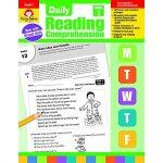 Daily Reading Comprehension, Grade 1 9781629384740