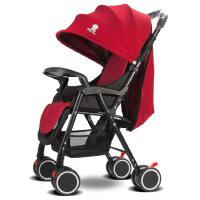 轻便 婴儿推车可坐躺可折叠四季可用四轮儿童手推车g3g