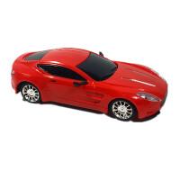 儿童遥控汽车玩具车充电 摇控车仿真赛车跑车电动模型男孩 红色 官方标配