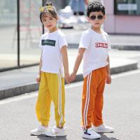 儿童防蚊裤女童装男童宝宝夏季运动灯笼长裤子