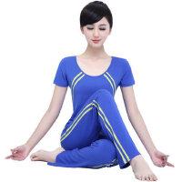 新款瑜伽服套装 女 运动健身服 短袖瑜珈跳操服愈加服 支持礼品卡支付