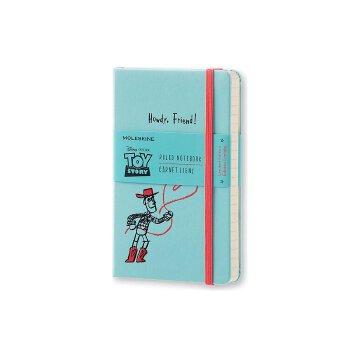 进口原版 Moleskine 限量版《玩具总动员》笔记本 - 浅蓝色横线 (口袋) Moleskine Toy Story Limited Edition Notebook