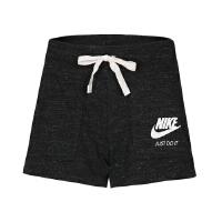 NIKE耐克夏季女裤宽松透气运动跑步休闲短裤883734-471