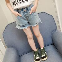 童装女童牛仔短裤洋气春装新款韩版儿童外穿牛仔裤大童夏装潮