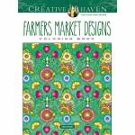 Creative Haven Farmers Market Designs Coloring Book(【按需印刷】)
