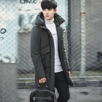 羽绒服男冬季新款韩版男士加厚中长款冬装衣服青年学生潮流外套