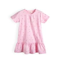 女童短袖家居裙夏季薄款 儿童睡裙 宝宝夏装小女孩连衣裙