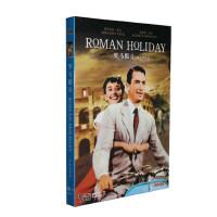 正版老电影碟片DVD光盘 罗马假日收藏版 1DVD 奥黛丽・赫本
