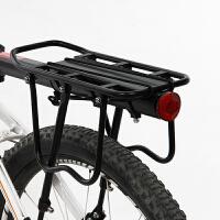 自行车快拆式载人后货架 铝合金单车货架 山地车配件装备