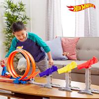 【当当自营】美泰风火轮Hotwheels火辣小跑车极限跳跃赛道DJC05轨道玩具