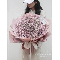 鲜花包月套餐每周一花 满天星花束生日礼物鲜花速递同城配送上海熊抱大花束花店送花上门 不含花瓶