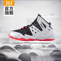 361度篮球鞋男鞋高帮冬季361运动鞋耐磨水泥地球鞋缓震篮球战靴