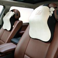 汽车头枕护颈枕车载车内用品靠枕奥迪宝马座椅舒适头枕四季