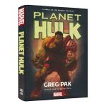 Marvel Planet Hulk 绿巨人新故事 浩克星球 漫威原版长篇英语小说 英雄故事图书 英文原版进口小说高阶