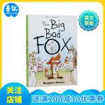 英文原版 The Big Bad Fox 大坏狐狸的故事 少儿绘本 连环漫画