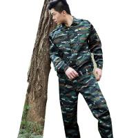 AOTU 军迷服户外运动拓展训练服 虎斑作训套装 军训军迷装备 武井特战套装